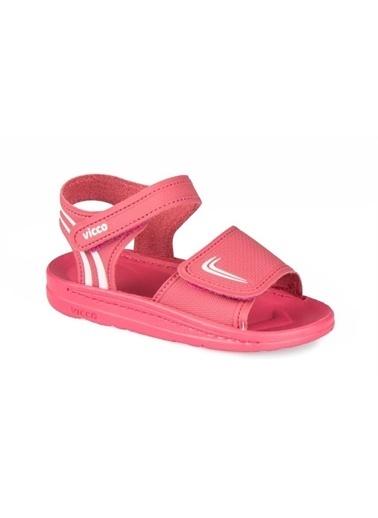 Vicco Vicco Patik Sandalet Kız Çocuk Fuşya Fuşya